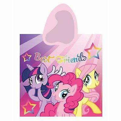 My Little Pony Best Friends Poncho Hooded Towel 100% Official New Free P+P