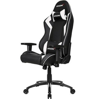 AKRacing Octane Series Super-Premium Gaming Chair - White