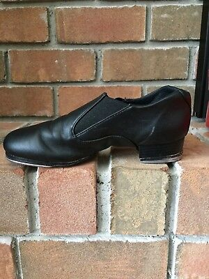 Capezio Riff Slip On Tap Shoe--Cg18--Blk–Size 5.5M –– Gently Used