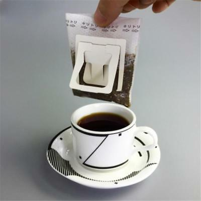 50Pcs Useful Drip Coffee Filter Bag Hanging Ear Paper Brew Coffee and Tea SLK