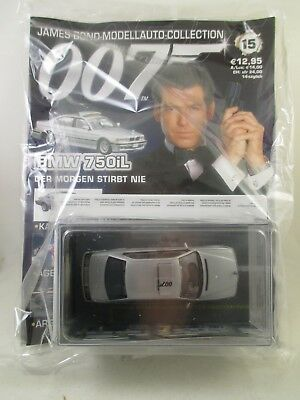 Eaglemoss - James Bond 007 Collection - Ausgabe 15 - BMW 750iL     NEU / OVP