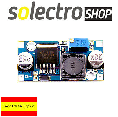 Modulo Regulable DC LM2596  1,25-32V 3A STEP Down Modulo Fuente Arduino A0004