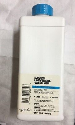 Ilford Universal Wash Aid Liquid for Black & White Film & Paper 1 Liter #1918692