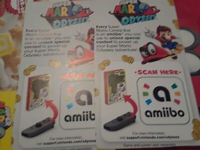 Super Mario Odyssey Cereal Nintendo Switch Amiibo Only