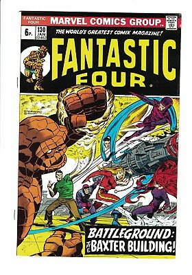 Marvel Comic Fantastic Four No 130 Jan 1973