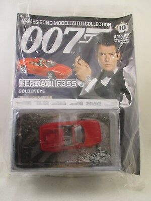 Eaglemoss - James Bond 007 Collection - Ausgabe 10 - Ferrari F355  NEU / OVP