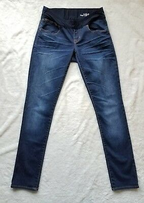 Gap Maternity Demi Panel Always Skinny Jeans Indigo Wash sz 26/2 NWOT