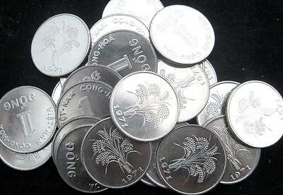 South Vietnam 1 Dong CN copper nickel  1971 CH BU Lot of 25 Coins
