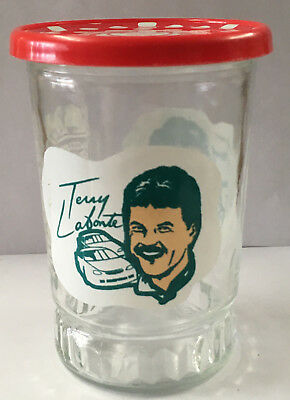 NASCAR Terry Labonte Champion Driver Series Bama Glass Jelly Jar