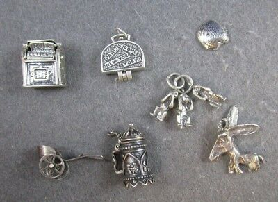 Charms Vintage Silver - Lot of 7- 23.1 G