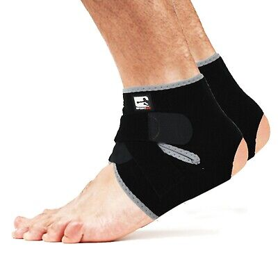Sporteq Ankle Support,Adjustable Strap Brace,Medical Pain Relief / Sports Injury