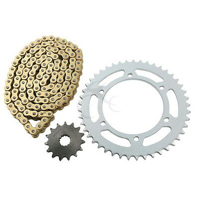 Gold O-Ring Chain and Sprocket Kit For Yamaha FZS600 FAZER 5DM/5RT 1998-2003 02