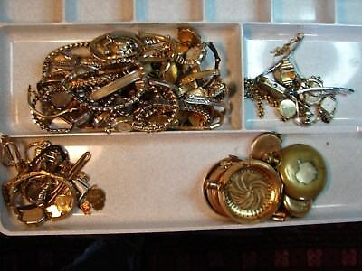 GOLD FILLED WATCH AND JEWELRY RECOVERY LOT 10kt 12kt 14kt 725 GRAMS+!