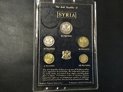 1990'S Syria Coins Mint Set !