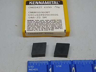 Kennametal Cng-542-T Ceramic Inserts (5 Pcs) New