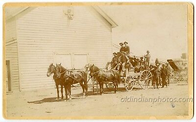 Pioche, Nevada Stagecoach - Gold Mining, Murders, Ghost Town c. 1897