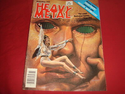 HEAVY METAL November 1982  Adult Illustrated Magazine FN/VF