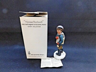 """Norman Rockwell """"back To School"""" Designed By Dave Grossman"""