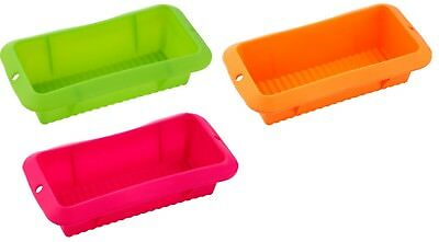 Renberg Silicone Rectangular Non-Stick Loaf Pan Cake Mould Baking Tin