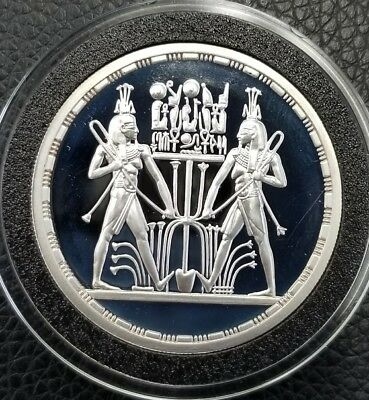 1993 Symbol of Unification .999 Silver Egypt 5 Pound PROOF Coin *MS* [DC1330]