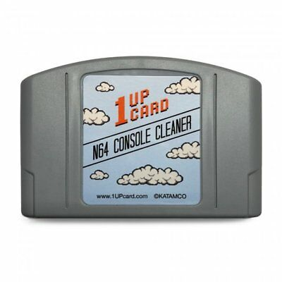 1UP N64 Retro Game Cartridge Console Cleaner Kit for Nintendo 64 System -1UPCARD