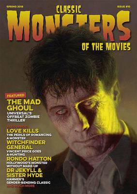 Classic Monsters Magazine Issue 10: Horror Film and Horror Movie Magazine