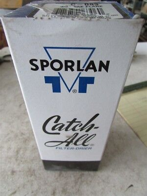"""Sporlan Catch All Filter Drier C-083 3/8"""" SAE Flare Fittings D-85"""