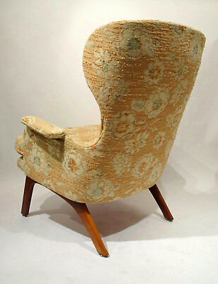 ADRIAN PEARSALL Craft Associates RARE Wingback Lounge Chair KAGAN Era