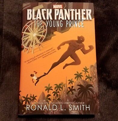 Black Panther The Young Prince first edition 2018, Hardcover novel book