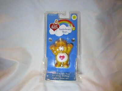 NEW in Package Care Bears 20th Anniversary Tenderheart Bear Figurine 2002