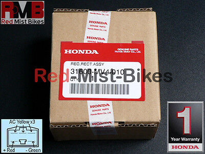 Genuine Honda CBR 400 RR NC23 and NC29 Regulator/Rectifier; 1-Year Warranty