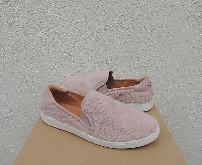 7c383b596d1 UGG AUSTRALIA BLAKE Dusk Pink 1019109 Lace Up Tennis Shoes Suede ...