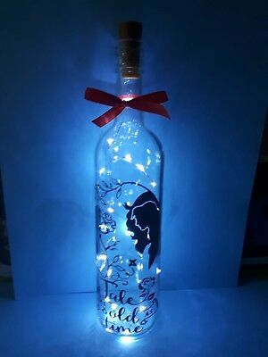 beauty and the beast light bottle