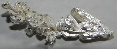 2.20 grams of .999 Crystalline silver crystal nugget 99.999% Pure