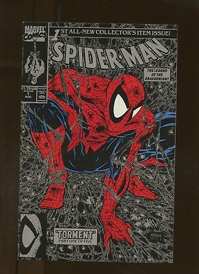 Spider-Man 1 NM 9.4 Silver Edition * 1 Book * Todd McFarlane Story Art & Cover!