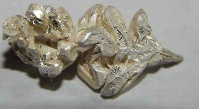 2.68 grams of .999 Crystalline silver crystal nugget 99.999% Pure