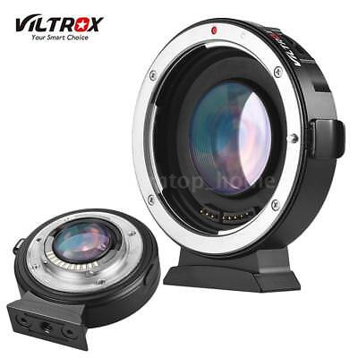 VILTROX EF-M2 Auto Focus Reducer Speed Booster Adapter For Canon M43 Lens MTF