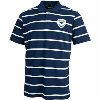 Melbourne Victory FC Knitted Polo Shirt Sizes S-5XL! A League Soccer Football!