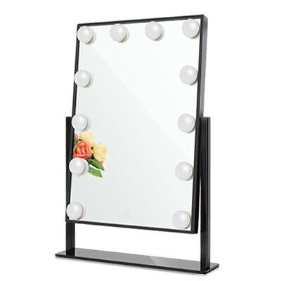 Chende Vanity Mirror Hollywood Style Makeup Mirror with 3-color Light Conversion