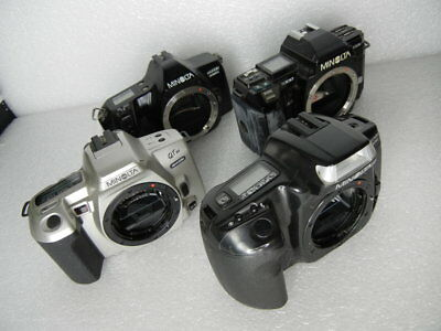 LOT OF 4 MINOLTA CAMERAS QTsi 3000i 300si 7000 PARTS OR REPAIR #2