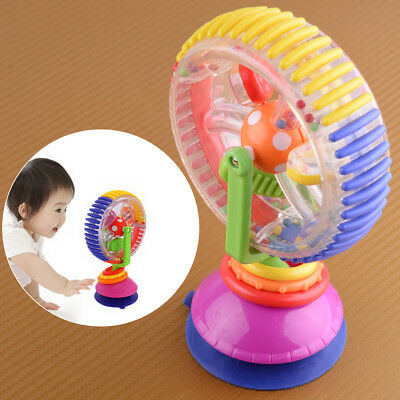Ferris Wheel Rattle Tricolor Multi-touch Baby Suckers Creative High Chair toys