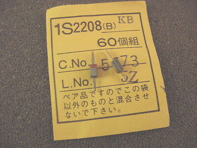 60 Pieces 1S2208 (B) Varactor tuning diode [12.5pf] See Description  QRP RADIO