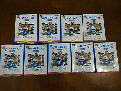 Doraemon Stand by me movie pin lot 9