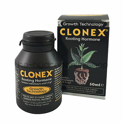 Growth Technology Clonex Rooting Hormone Gel 50ml Hydroponics