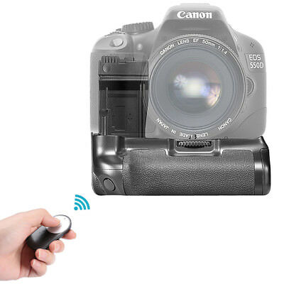 Neewer Battery Grip for Canon 550D 600D 650D + Battery for LP-E8 + Remote