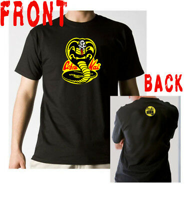 Cobra Kai t-shirt Karate Kid inspired martial arts kung fu 80's movie classic TV