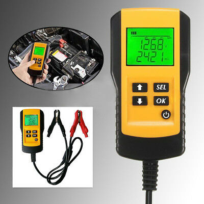 LCD Car Auto Battery Load Tester Analyzer Digital Diagnostic Checking System 12V