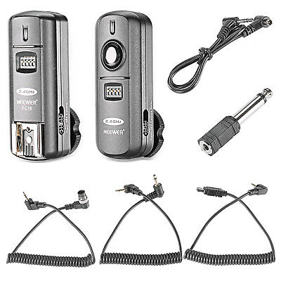 Neewer 2.4GHz Wireless Flash Trigger with Remote Shutter for Nikon
