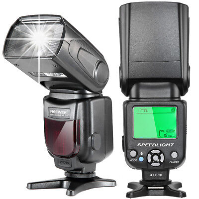 Neewer i-TTL Speedlite Flash with LCD Display for Nikon D7200 D7100 D3100 D5500