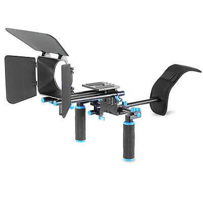 Neewer Movie Video Making Rig Set System with Shoulder Mount for Canon Nikon